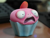 Cupcake Monsters - STRAWBERRY PINK 3d printed
