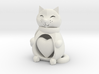 Cat with a Heart 3d printed