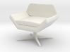 1:48 Sly Lounge Chair 3d printed