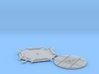 1:43.5 Decauville Turntable Type 27 No 76 O9 On18 3d printed