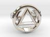 FIRESTARTER SINGLE BAND RING 7.5 3d printed