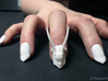 Dragon Master Nails (Size 1) 3d printed White Strong and Flexible