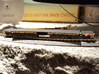 QTTX131600 Series 12-Axle Heavy Duty Flat Car 3d printed Painted, without decals