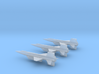 1/285 NAA X-15A2 (3) 3d printed