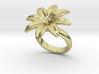 Flowerfantasy Ring 16 - Italian Size 16 3d printed