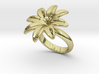 Flowerfantasy Ring 24 - Italian Size 24 3d printed