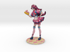 """A Maid Story - 4"""" Tall 3d printed"""