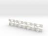 8 Slide Rollers 3d printed