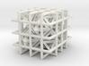 Octahedra and tetrahedra 3d printed