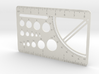 Drafting Tool Card (for Sliminal) 3d printed