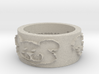Baywood Bear Ring Size 7 3d printed