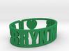 Bryn Mawr Cuff 3d printed