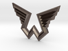 Wings Logo Pendant 3d printed
