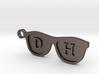 Glasses Initials KeyChain Custom 3d printed
