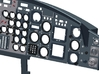 412 Dashboard to suit Vario Model 3d printed