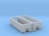 Industrial Dumpster 30yd (Qty 2) - N 160:1 Scale 3d printed