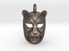 Leopard kabuki-style Pendant 3d printed