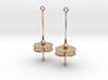 Flytrap Earrings 3d printed