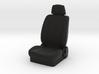 1/10 Scale Car Seat 3d printed