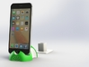 iPhone 6S/6S Plus Dock-Green 3d printed 3D Rendered images of iPhone 6S Plus Docking