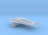 Thunder Fighter (Buck Rogers) HiRez, 1/270 3d printed