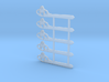 """HO Scale GRS Style A Pointed Semaphore 60"""" 3d printed"""