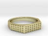 ANGIOINO Ring 3d printed ANGIOINO Ring in 18k Gold Plated
