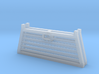 Pickup Truck Cab Guard 2Pack 1/87 HO Scale 3d printed