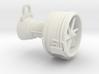 Turbofan Engine Key Fob 3d printed