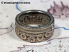 Ring - Oath to Order 3d printed Stainless Steel