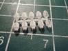 20L BBQ Propane Tank X10 Sprue 1-87 (HO) Scale 3d printed Completed Print in FUD