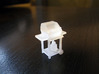Residential Barbecue (BBQ) - HO Scale (1/87) 3d printed FUD Print of Model (uncleaned)