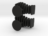 Cufflinks Free Form 3d printed