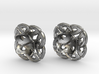 Celtic Round stud Earrings 3d printed
