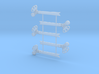O Scale 3Pos. TO Semaphore Fishtail 3d printed