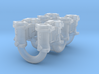 1/25 Weber Down Draft Carburetors 3d printed