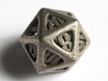 Thoroughly Modern Die20 3d printed In Stainless Steel