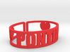 Pontiac Cuff 3d printed