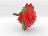 Poinsettia Tops 3d printed