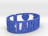 Island Lake Cuff 3d printed