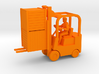 Forklift With Driver & Load - HO 87:1 Scale 3d printed