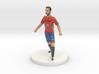 Spanish Football Player 3d printed