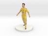 Ukrainian Football Player 3d printed