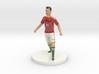 Hungarian Football Player 3d printed