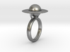 Saturn Ring (size 6) 3d printed