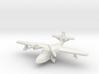 Grumman J4F Widgeon (with landing gear) 6mm 1/285 3d printed