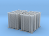 HO Maintenance Railings 4x25 3d printed