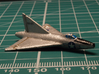 Convair XF-92A (2 airplanes, In Flight) 1/285 6mm 3d printed