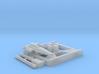 Blackbird, X-Wing Base (BSG) HiRez, 1/270 3d printed
