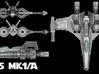 Z-95 Mk1A-1-270 3d printed